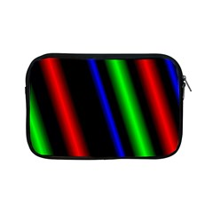 Multi Color Neon Background Apple iPad Mini Zipper Cases
