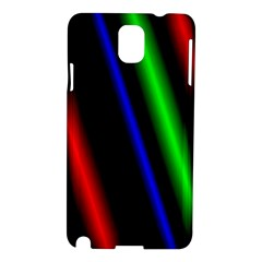 Multi Color Neon Background Samsung Galaxy Note 3 N9005 Hardshell Case