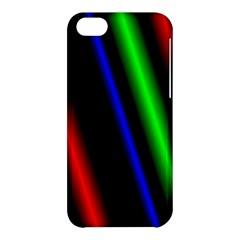 Multi Color Neon Background Apple Iphone 5c Hardshell Case