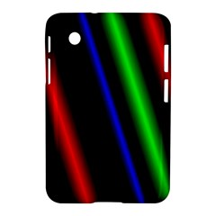 Multi Color Neon Background Samsung Galaxy Tab 2 (7 ) P3100 Hardshell Case