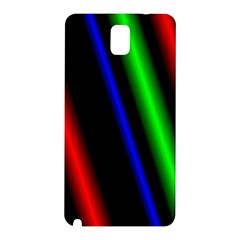 Multi Color Neon Background Samsung Galaxy Note 3 N9005 Hardshell Back Case