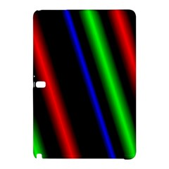 Multi Color Neon Background Samsung Galaxy Tab Pro 10.1 Hardshell Case