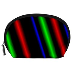 Multi Color Neon Background Accessory Pouches (large)