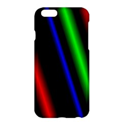 Multi Color Neon Background Apple iPhone 6 Plus/6S Plus Hardshell Case