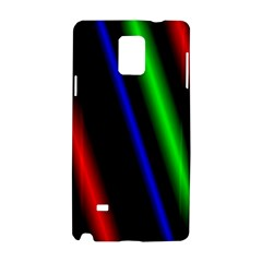 Multi Color Neon Background Samsung Galaxy Note 4 Hardshell Case
