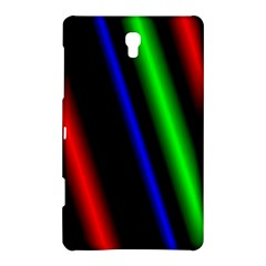 Multi Color Neon Background Samsung Galaxy Tab S (8.4 ) Hardshell Case