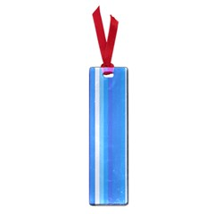 Color Stripes Blue White Pattern Small Book Marks