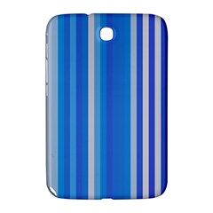 Color Stripes Blue White Pattern Samsung Galaxy Note 8.0 N5100 Hardshell Case