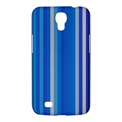 Color Stripes Blue White Pattern Samsung Galaxy Mega 6.3  I9200 Hardshell Case