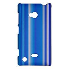 Color Stripes Blue White Pattern Nokia Lumia 720