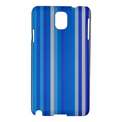Color Stripes Blue White Pattern Samsung Galaxy Note 3 N9005 Hardshell Case