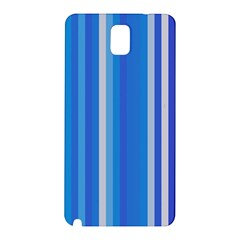 Color Stripes Blue White Pattern Samsung Galaxy Note 3 N9005 Hardshell Back Case