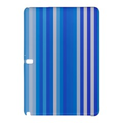 Color Stripes Blue White Pattern Samsung Galaxy Tab Pro 12.2 Hardshell Case