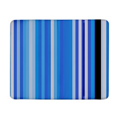Color Stripes Blue White Pattern Samsung Galaxy Tab Pro 8.4  Flip Case