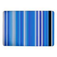 Color Stripes Blue White Pattern Samsung Galaxy Tab Pro 10.1  Flip Case