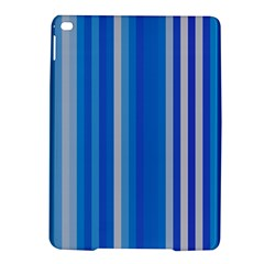 Color Stripes Blue White Pattern iPad Air 2 Hardshell Cases