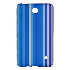 Color Stripes Blue White Pattern Samsung Galaxy Tab 4 (8 ) Hardshell Case