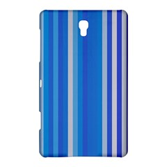 Color Stripes Blue White Pattern Samsung Galaxy Tab S (8.4 ) Hardshell Case