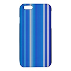 Color Stripes Blue White Pattern iPhone 6/6S TPU Case