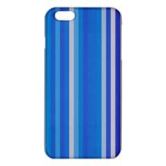Color Stripes Blue White Pattern iPhone 6 Plus/6S Plus TPU Case