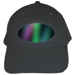 Course Gradient Color Pattern Black Cap