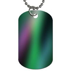 Course Gradient Color Pattern Dog Tag (One Side)