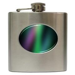 Course Gradient Color Pattern Hip Flask (6 oz)