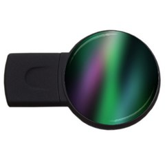 Course Gradient Color Pattern USB Flash Drive Round (2 GB)