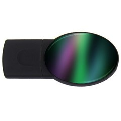 Course Gradient Color Pattern USB Flash Drive Oval (2 GB)