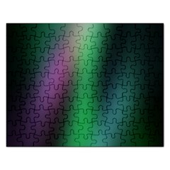Course Gradient Color Pattern Rectangular Jigsaw Puzzl