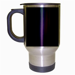 Course Gradient Color Pattern Travel Mug (silver Gray)