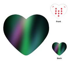 Course Gradient Color Pattern Playing Cards (Heart)