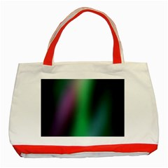 Course Gradient Color Pattern Classic Tote Bag (Red)