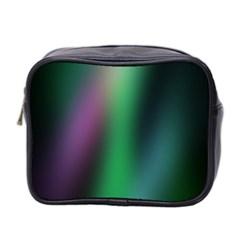 Course Gradient Color Pattern Mini Toiletries Bag 2 Side