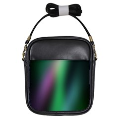Course Gradient Color Pattern Girls Sling Bags