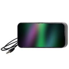 Course Gradient Color Pattern Portable Speaker (black)