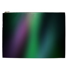 Course Gradient Color Pattern Cosmetic Bag (XXL)