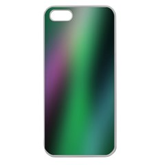 Course Gradient Color Pattern Apple Seamless iPhone 5 Case (Clear)