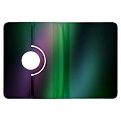 Course Gradient Color Pattern Kindle Fire HDX Flip 360 Case