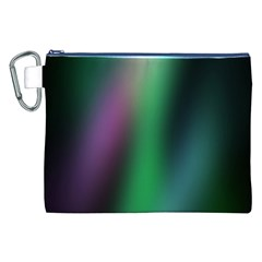 Course Gradient Color Pattern Canvas Cosmetic Bag (XXL)