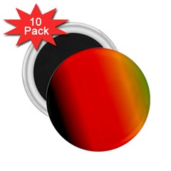 Multi Color Pattern Background 2.25  Magnets (10 pack)