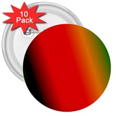 Multi Color Pattern Background 3  Buttons (10 Pack)