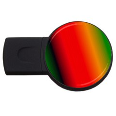 Multi Color Pattern Background Usb Flash Drive Round (2 Gb)