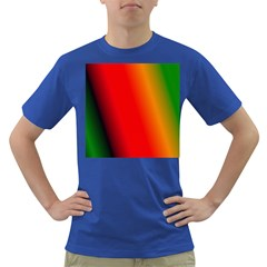Multi Color Pattern Background Dark T Shirt