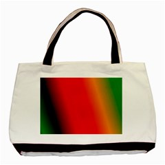 Multi Color Pattern Background Basic Tote Bag (Two Sides)