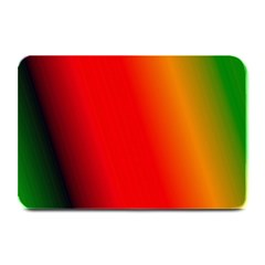 Multi Color Pattern Background Plate Mats