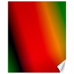 Multi Color Pattern Background Canvas 11  X 14