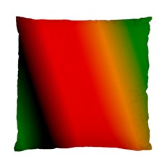 Multi Color Pattern Background Standard Cushion Case (One Side)