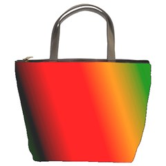 Multi Color Pattern Background Bucket Bags