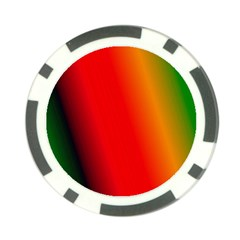 Multi Color Pattern Background Poker Chip Card Guard (10 Pack)